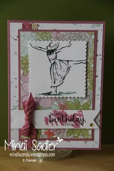 Beautiful You Stampin' Up! 2017 Occasions Catalogue. Succulent Garden Designer Series Paper and cardstock.
