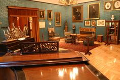 Liszt Museum, Budapest. Home of Ferenc Liszt, most famous Hungarian composer. Collection of his personal objects and instruments can be visited.