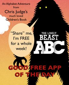 Good Free App of the Day : The Lonely Beast ABC (normally $2.99)