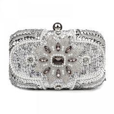 Women/'s Elegant Evening Party Club Clutch Wedding Bridal Purse Handbag Gift MA