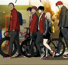 Cycling Art, Cycling Bikes, Bike Sketch, Wind Breaker, Manhwa Manga, Bike Style, Bike Art, Cool Wallpaper, Aesthetic Anime