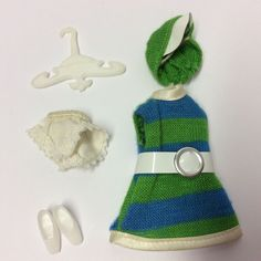 vintage 1970's palitoy pippa doll clothes - madrid collection