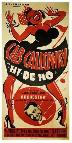 "louxosenjoyables: Cab sang ""Hi-De-Ho!"" by paul.malon on Flickr."