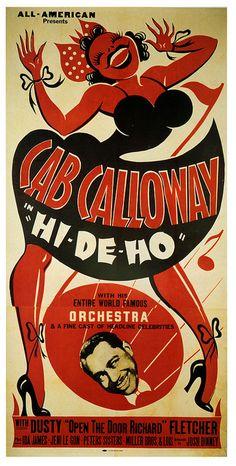 "louxosenjoyables: Cab sang ""Hi-De-Ho!"" by paul.malon on Flickr."