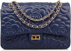 308455ef9f1f Amazon.com  Ainifeel Women s Quilted Oversize Genuine Leather Shoulder  Handbag Hobo Bag Purse (X-Large