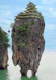 Curious, Funny Photos / Pictures: Unusual Homes around the World - 27 Pics Places Around The World, Oh The Places You'll Go, Places To Travel, Places To Visit, Around The Worlds, Crazy Houses, Weird Houses, Rock Houses, Unusual Homes