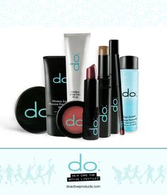 do. make-up. Our new line of make-up is designed by certified fitness trainers and professional stylists specifically for the active lifestyle.