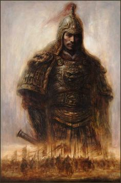 He Qing Art - paintings-tamashi