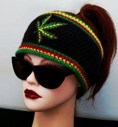 Ganja Fleece Lined Headband — Alily Crochet