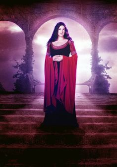 Arwen's gown - Lord of the Rings Return of the King