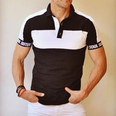Slim Fit Polo Shirts, Short Sleeve Polo Shirts, Collar Shirts, Casual Shirts, Tie Up Shirt, Mens Printed Shirts, Striped Polo Shirt, Men Casual, Man Shop