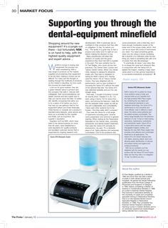 Supporting you through the dental-equipment minefield, The Probe, January 2015 Shop Around, Dental, January, Articles, Marketing, Shopping, Dentist Clinic