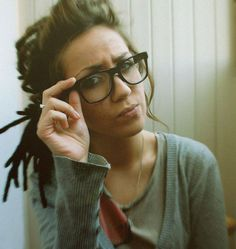 So cute, and with glasses! Mine might be around this length..