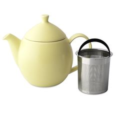 FORLIFE Dew Teapot with Basket Infuser, Lemon Grass, 32 oz/946ml -- More info could be found at the image url.