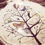 Love these plates from Anthropologie!