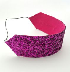Bright Pink Glitter Headband - FREE UK SHIPPING