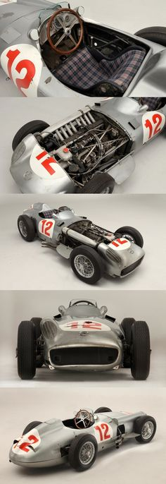 Flecha de Plata MB / J. M. Fangio / Fangio's Mercedes-Benz W196R sells for record-setting $29,619,826 US dollars 12th July 2013