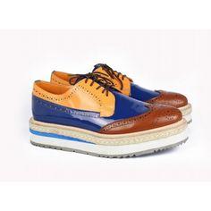 Mens Prada Shoes Mixed Color