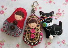 Zam�łwienie - dwie matrioszki i kotek :)