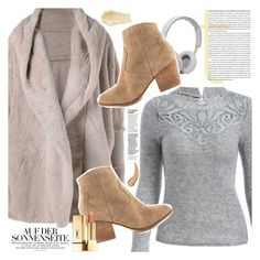 """""""Fuzzy Coat"""" by vanjazivadinovic ❤ liked on Polyvore featuring ALDO, B&O Play, polyvoreeditorial and twinkledeals"""