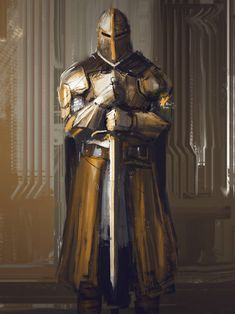 Armored by Darkcloud013 on DeviantArt Medieval Combat, Medieval Knight, Medieval Fantasy, Male Character, Character Portraits, Fantasy Character Design, Armadura Medieval, Fantasy Armor, Dark Fantasy