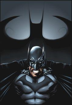 We bring you some of the best Batman artwork and illustrations, each showing the artist's interpretation of the Dark Knight. Joker Batman, Spiderman, I Am Batman, Batman Robin, Comic Book Characters, Comic Books Art, Comic Art, Book Art, Batman Poster