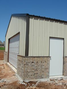 Metal shop buildings with living quarters google search for Metal houses in oklahoma