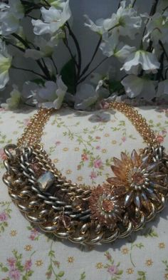 Fabulous collar necklace!
