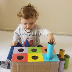 Baby Learning Activities, Montessori Activities, Infant Activities, Kids Learning, Baby Sensory Play, Baby Play, Baby Toys, Toddler Play, Toddler Crafts