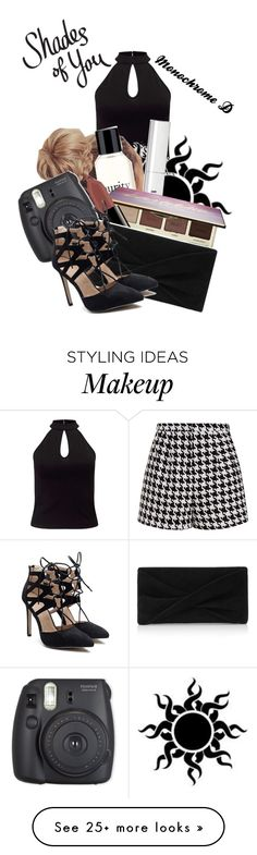 """Monochrome D"" by pen5 on Polyvore featuring Miss Selfridge, Emma Cook, philosophy, Bobbi Brown Cosmetics, tarte, Smashbox and Reiss"