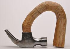 Suits Me Fine by sculptor Lucia Quevedo #art #hammer #tool #sculpture #surreal