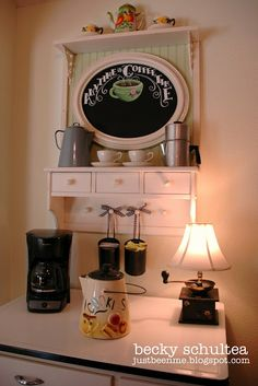 Just Bee 'n Me: Our Cottage Coffee Bar