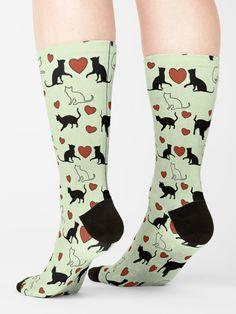 Muster für Katzenbesitzer und Katzenliebhaber mit kleinen Kätzchen und Herz. Über so ein Geschenk freut sich jeder Katzenfreund. Fashion, Gifts For Cat Lovers, Heart, Patterns, Moda, Fashion Styles, Fashion Illustrations