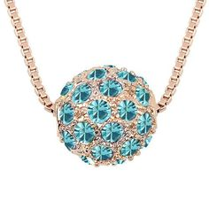 Austrian Crystals Fashion Pendant Necklace from Swarovski