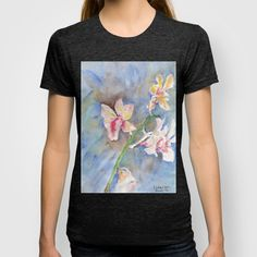 Tropical Orchid T-shirt by ellisewalburn Great T Shirts, T Shirts For Women, Orchids, Tropical, Collections, Stuff To Buy, Inspiration, Tops, Fashion