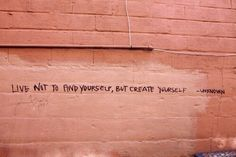 It's not about finding, it's about creating. Create yourself first.