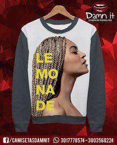 Buzo básico Beyoncé LEMONADE https://www.facebook.com/CamisetasDamnit