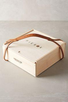 Wooden Pie Box Carrier - anthropologie.com 50$ for granna