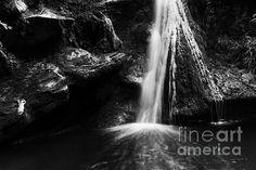 Dark Grotto Waterfall by Yuri  http://1-yuri-santin.artistwebsites.com/