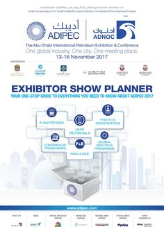 Adipec exhibitor show planner 2017 v7 28 pages lowres e68be1fb 3306 4b7d b950 ae89e19dd4f6