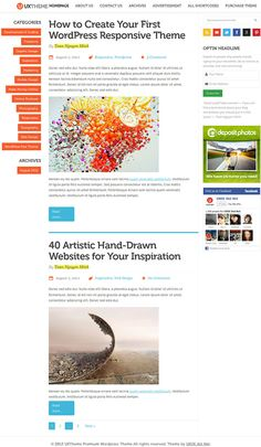 UXTheme WordPress Theme By UXDE