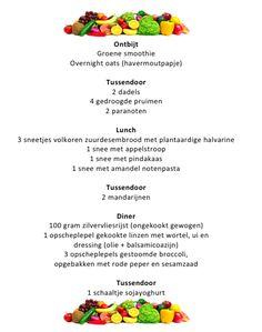 Volwaardig veganistisch dagmenu 3 Overnight Oats, Smoothie, Meal Planning, Meals, Smoothies, Meal, Menu Planners, Food, Yemek