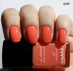I was surprised how good this looked on my skin. And trust me, this orange is anything but understated. OPI Atomic Orange is comparable (and cheaper haha)