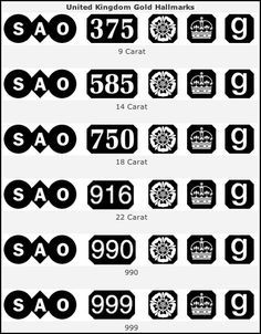 11 Best jewelry and metal hallmarks and symbols images