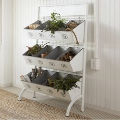 A round-up of my favourite farmhouse style finds to update your kitchen décor. Fabric Storage Bins, Fabric Bins, Storage Rack, Storage Baskets, Toy Storage, Kitchen Storage, Storage Ideas, Shabby Chic Kitchen, Farmhouse Kitchen Decor