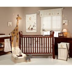NoJo® Dreamy Nights 4-Piece Crib Bedding Set - BedBathandBeyond.com
