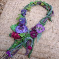 Elegant crocheted ornaments!