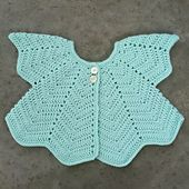 Ravelry: Petal Sweater - Gilet Petales English translation pattern by Z comme Zoe