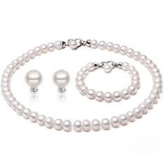 2017 Fashion Necklace,100% Natural Freshwater Pearl Necklaces,3 Kinds Wearing,Freshadama Pearls Neckless Women men Jewelry Group #Affiliate