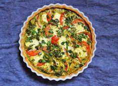Gluten Free Recipes, Healthy Recipes, Healthy Food, Tomato Mozzarella, Weekday Meals, Prosciutto, Coleslaw, Stevia, Quiche